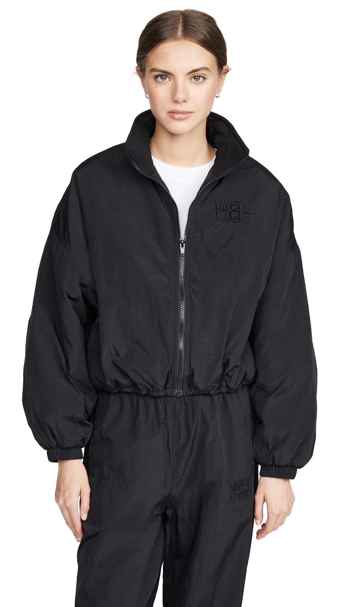 Buy alexanderwang.t Nylon Zip Jacket with Logo online beautiful alexanderwang.t Jackets, Coats, Coats