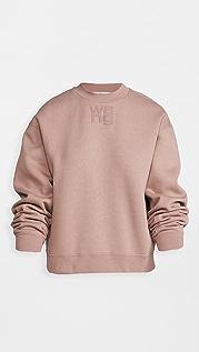alexanderwang.t Foundation 毛圈布圆领运动衫