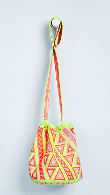 The Way U Medium Printed Mochilas Bucket Bag