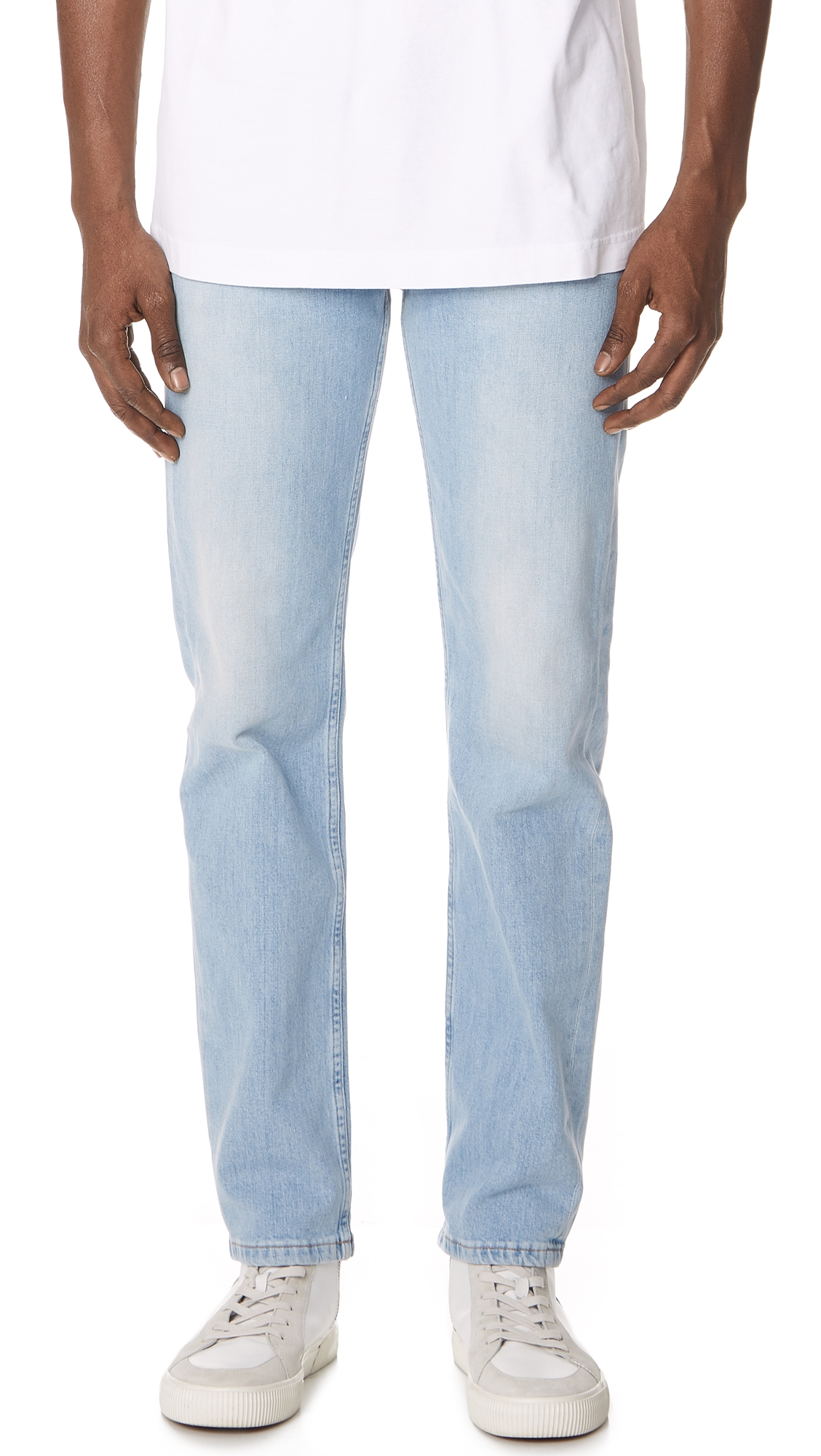 TOM WOOD STRAIGHT DENIM JEANS