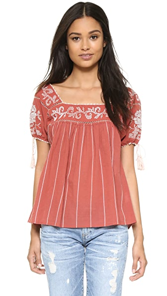 Ulla Johnson Lila Blouse