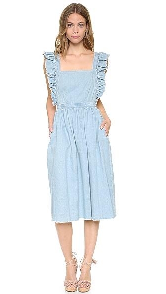 Ulla Johnson Ruth Pinafore Dress