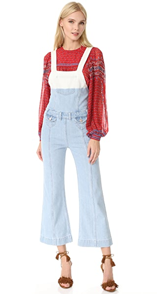 Ulla Johnson Claude Overalls