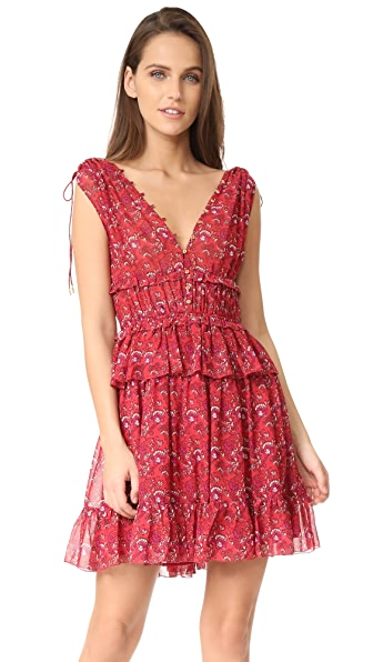 Ulla Johnson Noelle Dress - Ruby