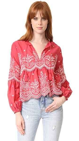 Ulla Johnson Lucie Blouse