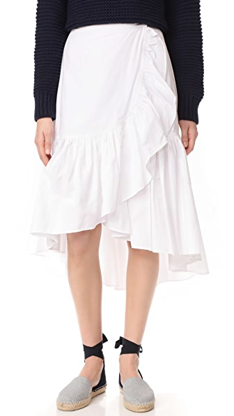 Ulla Johnson Camila Skirt In Blanc