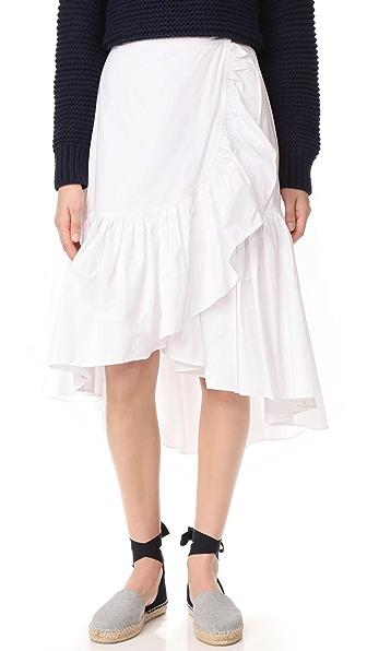 Ulla Johnson Camila Skirt - Blanc