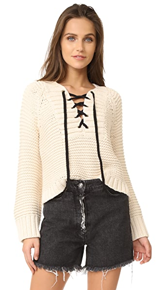 Ulla Johnson Marland Sweater - Natural
