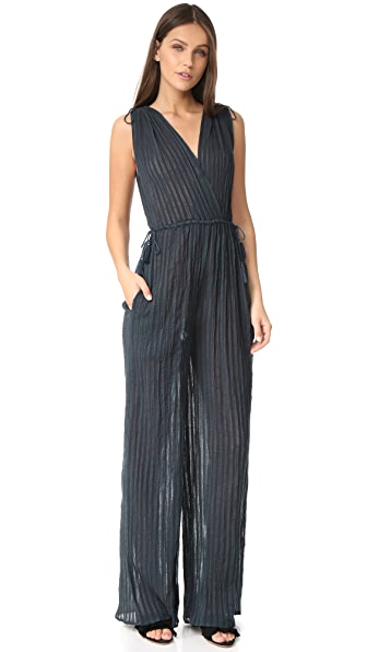 Ulla Johnson Tallis Jumpsuit In Indigo