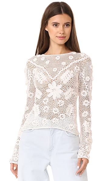 Ulla Johnson Lilia Top - Ivory