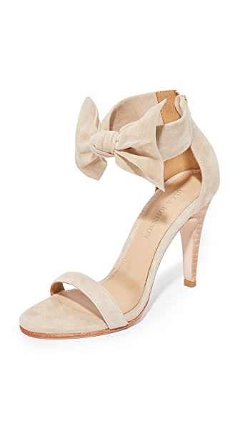 Ulla Johnson Thecia Heels In Taupe