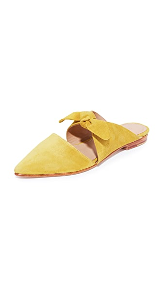 Ulla Johnson Lilo Babouche Slides In Honey