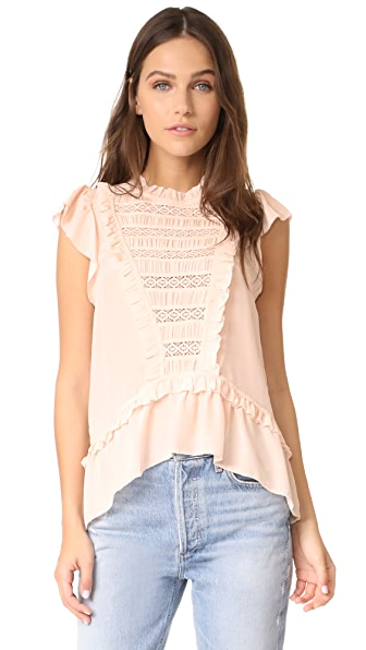 Ulla Johnson Lois Top - Blush