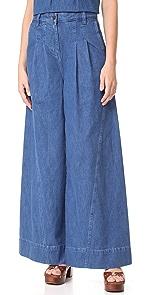 High Waisted Wide Leg Jeans | SHOPBOP | Extra 25% Off Designer ...