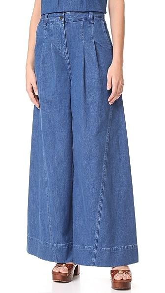 Ulla Johnson Lange Jeans - Denim