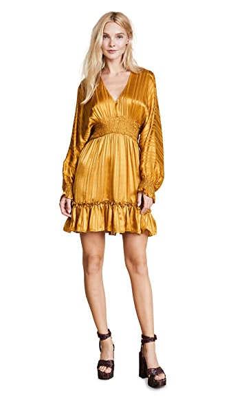Ulla Johnson Odette Dress In Gold