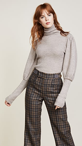 Ulla Johnson Brynn Turtleneck - Oatmeal