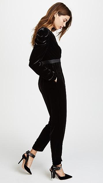 Ulla Johnson Sabine Velvet Jumpsuit