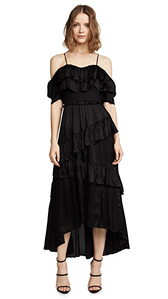 Ulla Johnson Louisa Gown In Noir