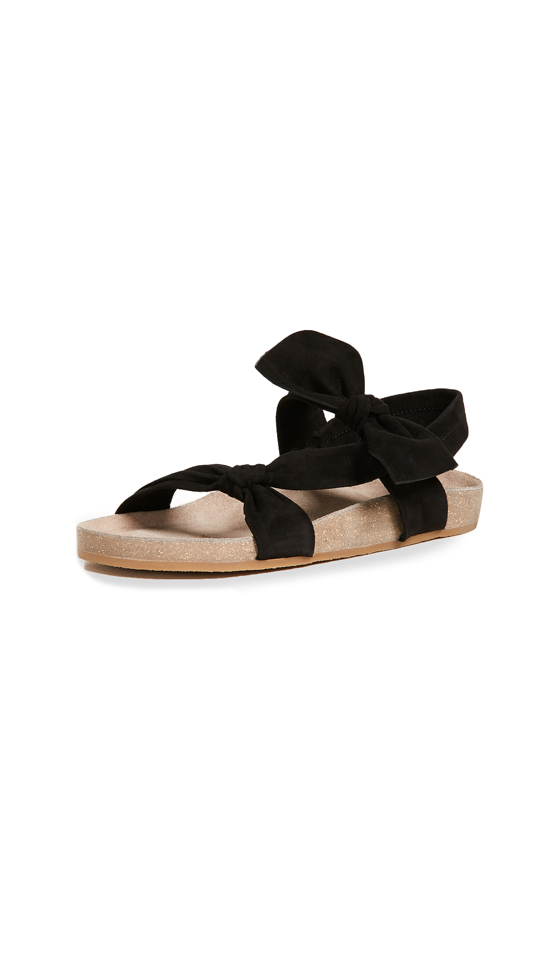 Ulla Johnson Abril Slides - Noir