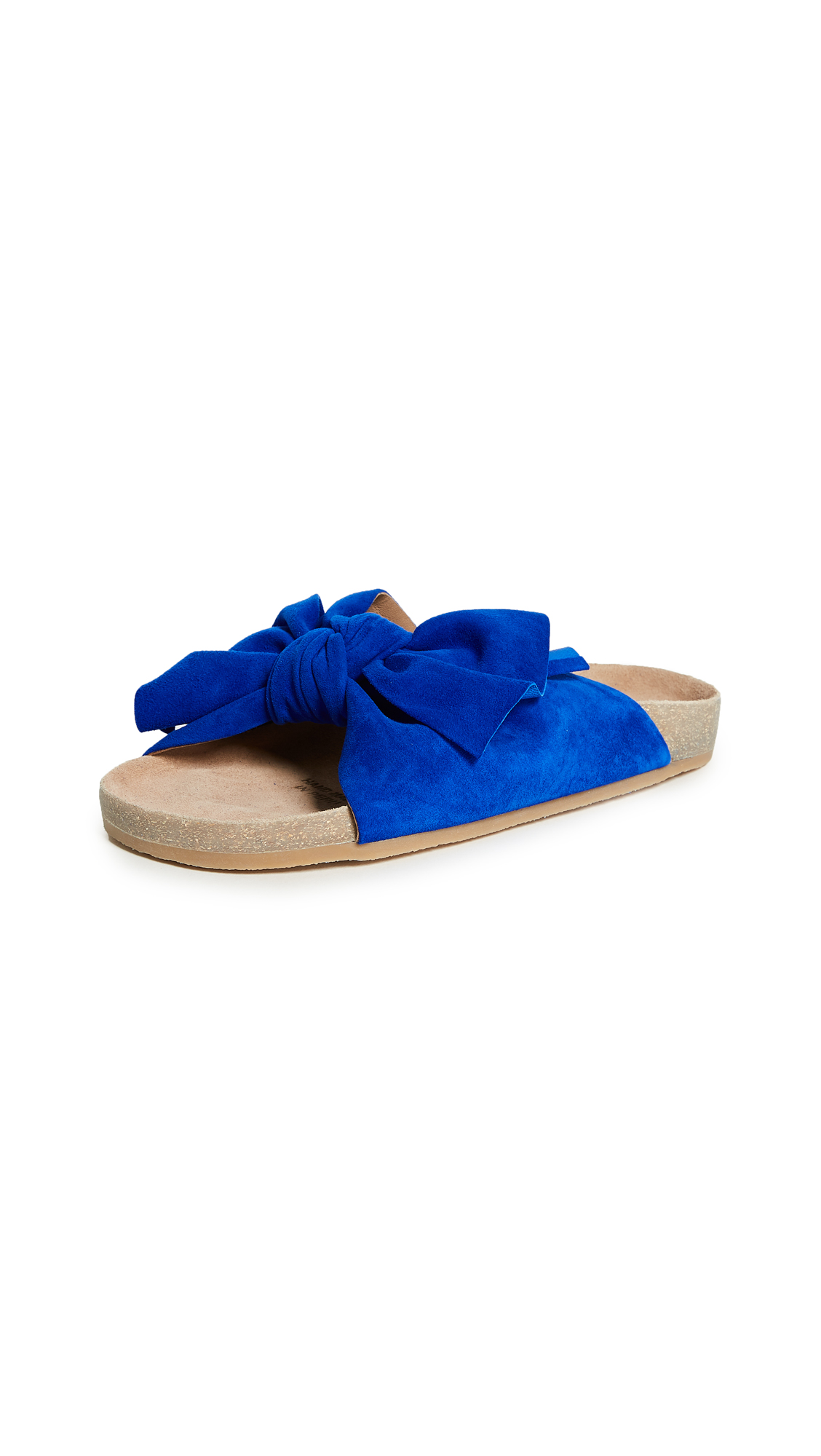 Ulla Johnson Ingrid Slides - Cobalt