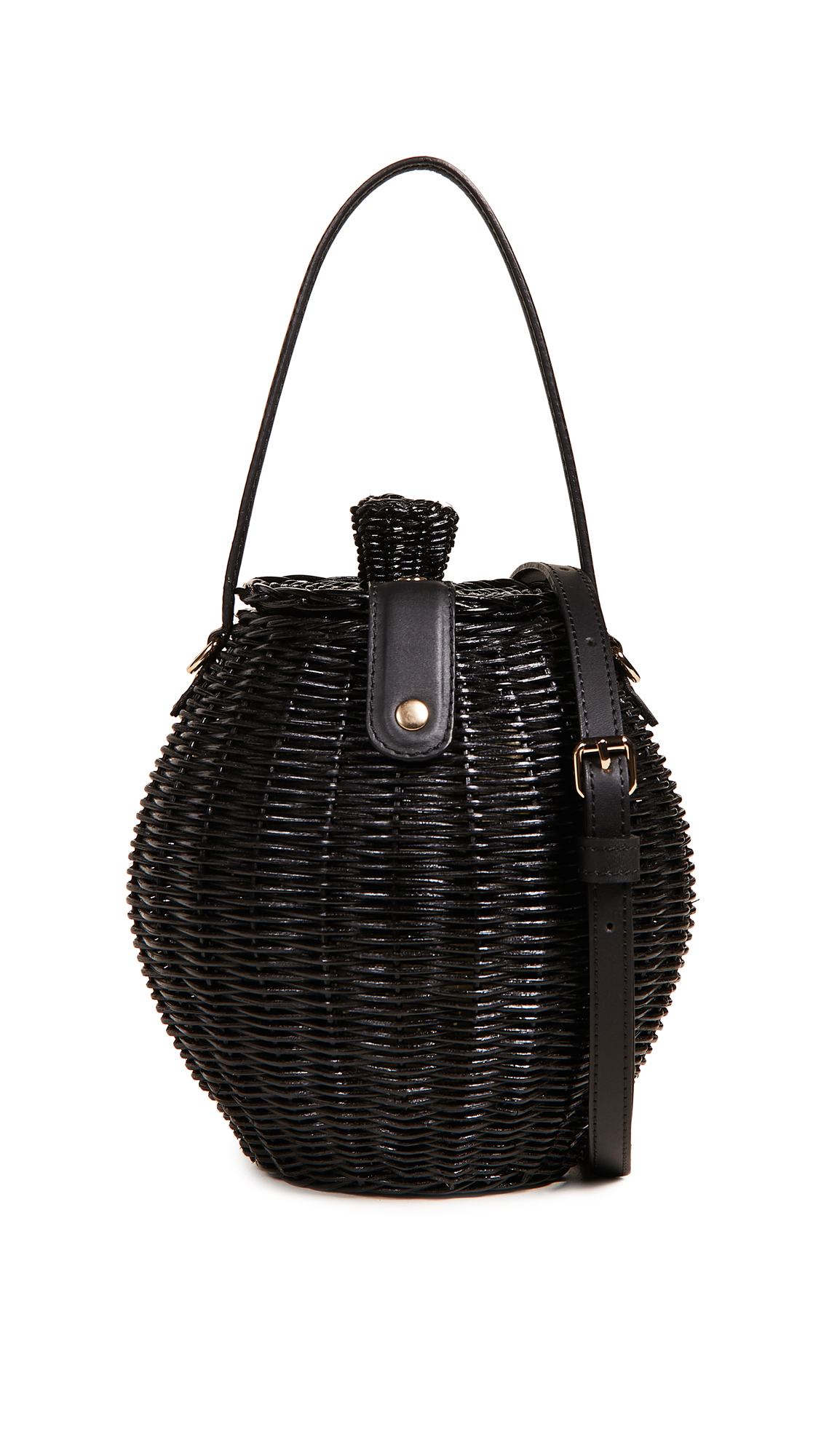 Ulla Johnson Tautou Wicker Basket Bag