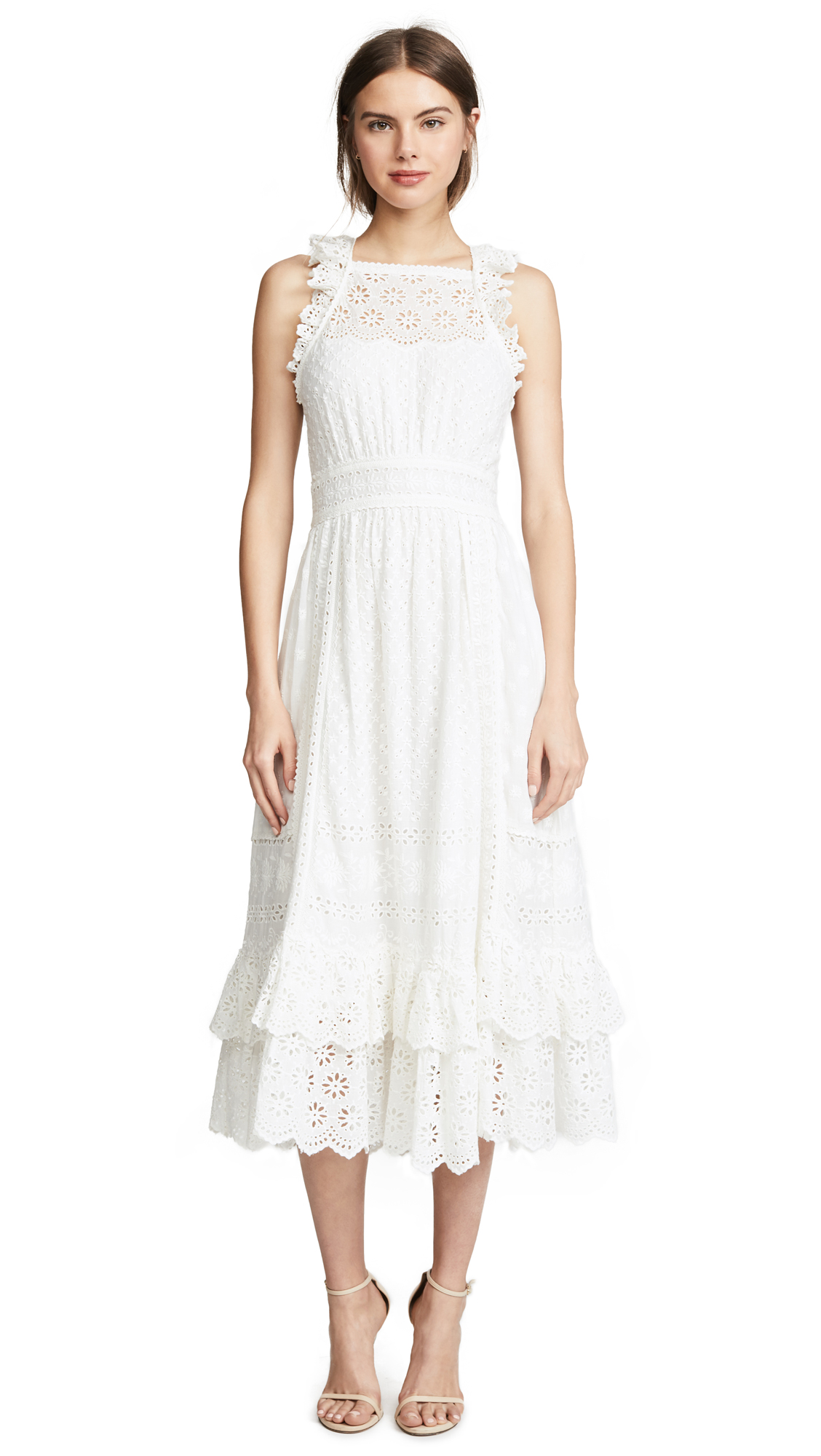 Ulla Johnson Willow Dress In Blanc