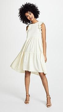 ... Dress; Ulla Johnson™ Embroidered Silk Evangeline Mini ...