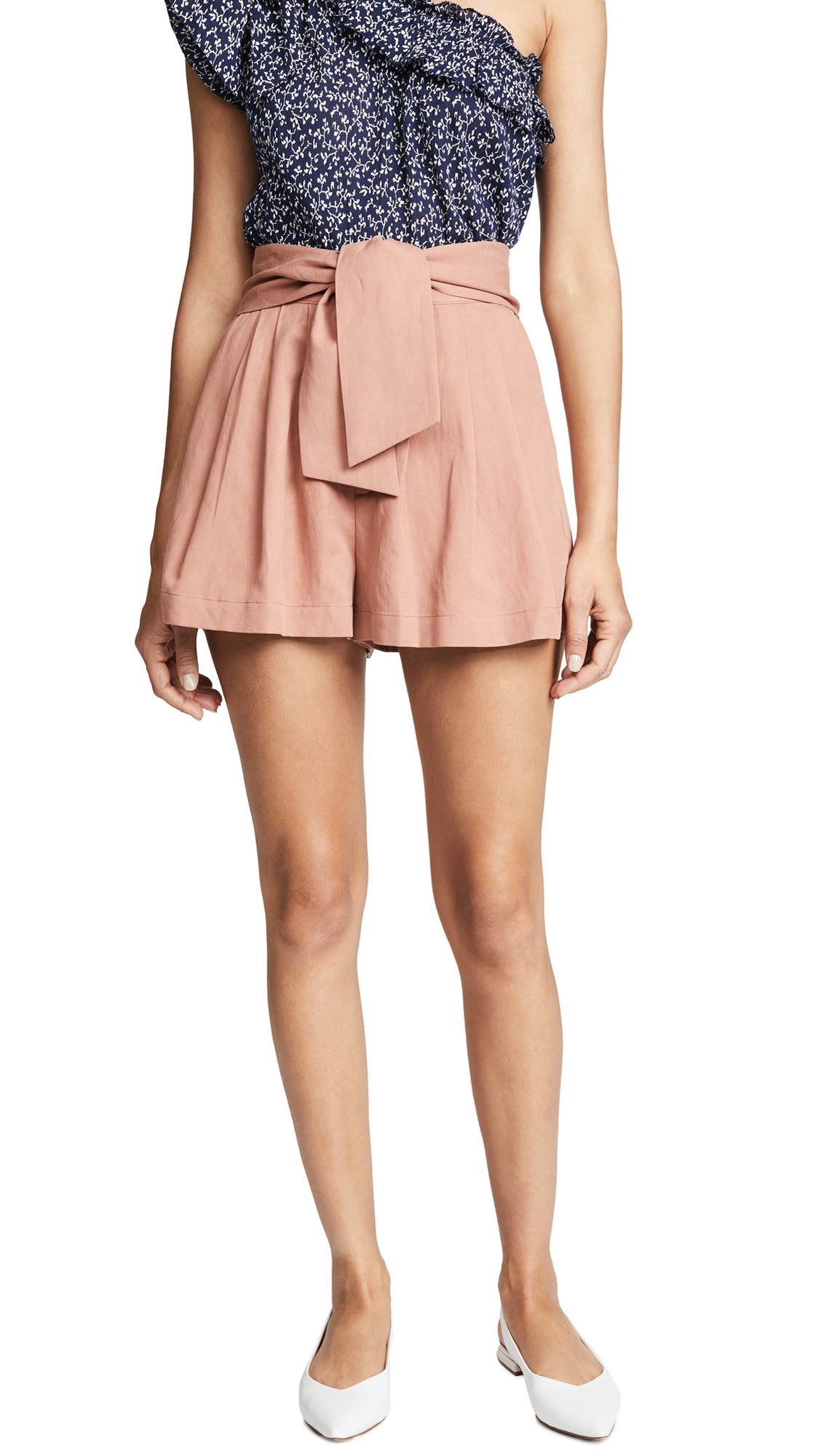 Ulla Johnson Martim Shorts In Clay
