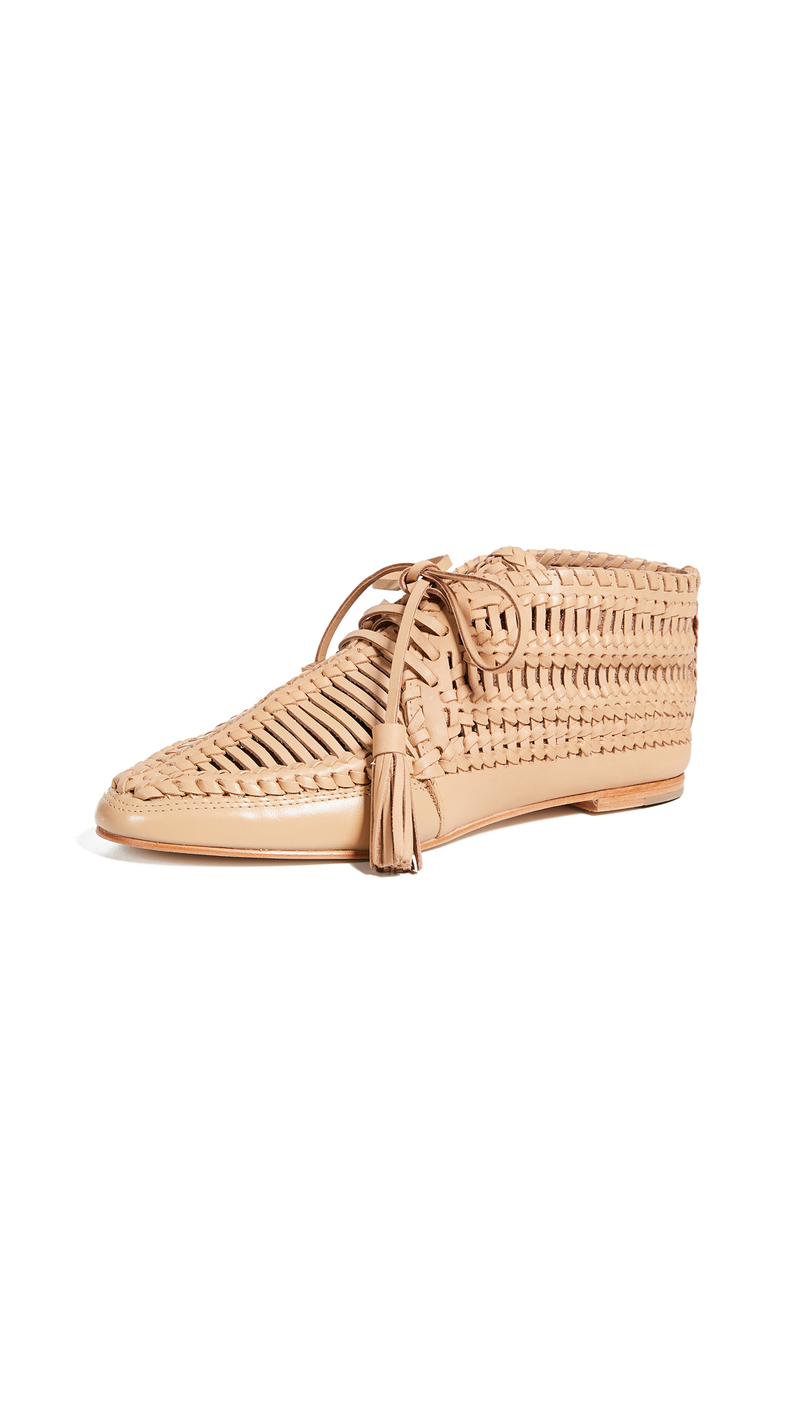 Ulla Johnson Nikola Moccasins - Latte