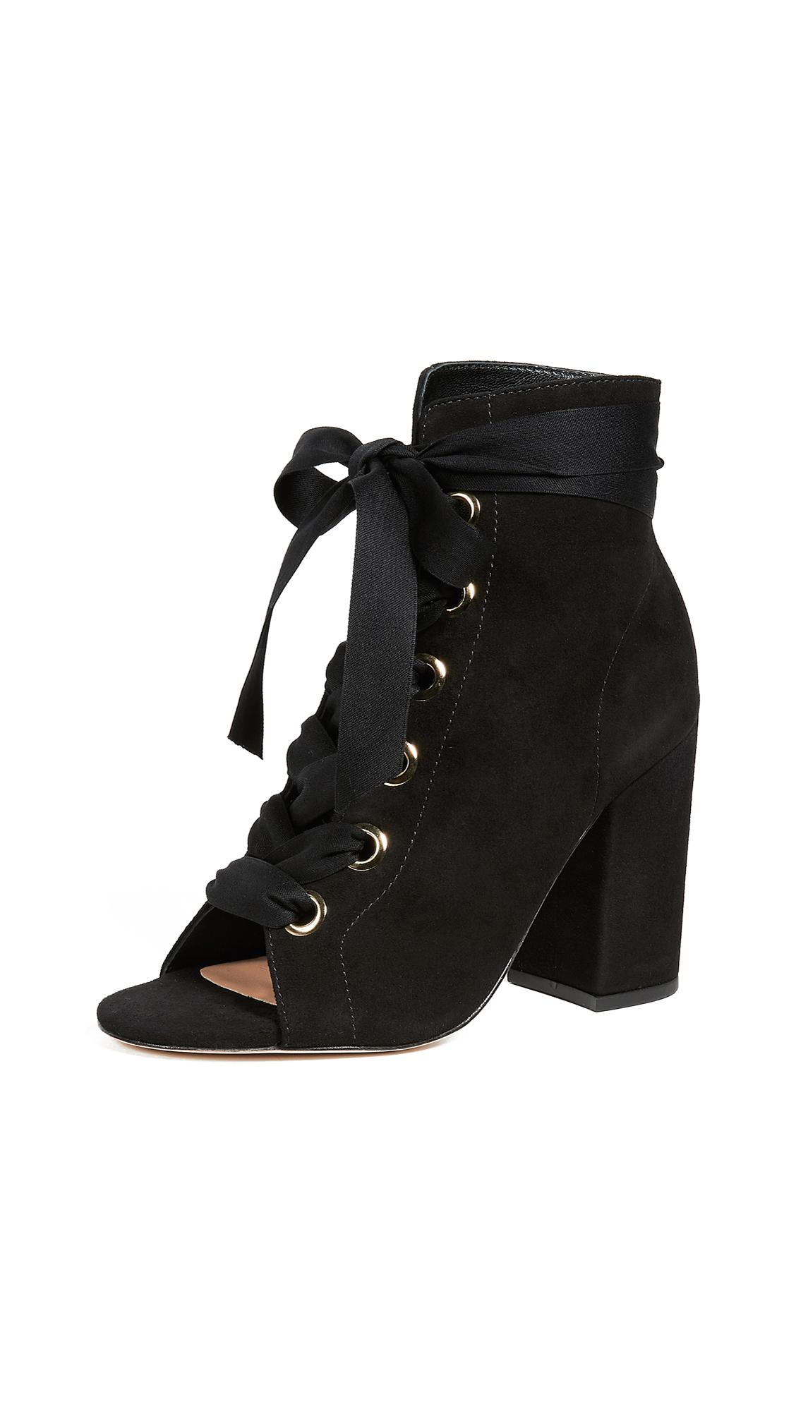 Ulla Johnson Ramona Heel Boots - Noir