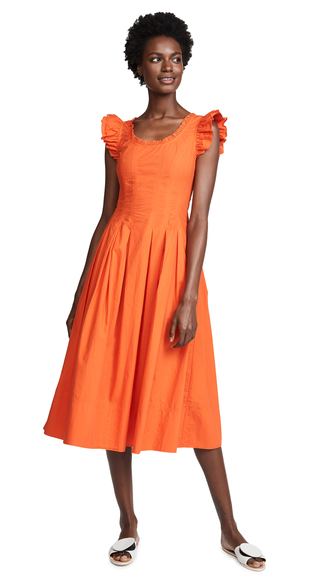 Ulla Johnson Camille Dress In Paprika