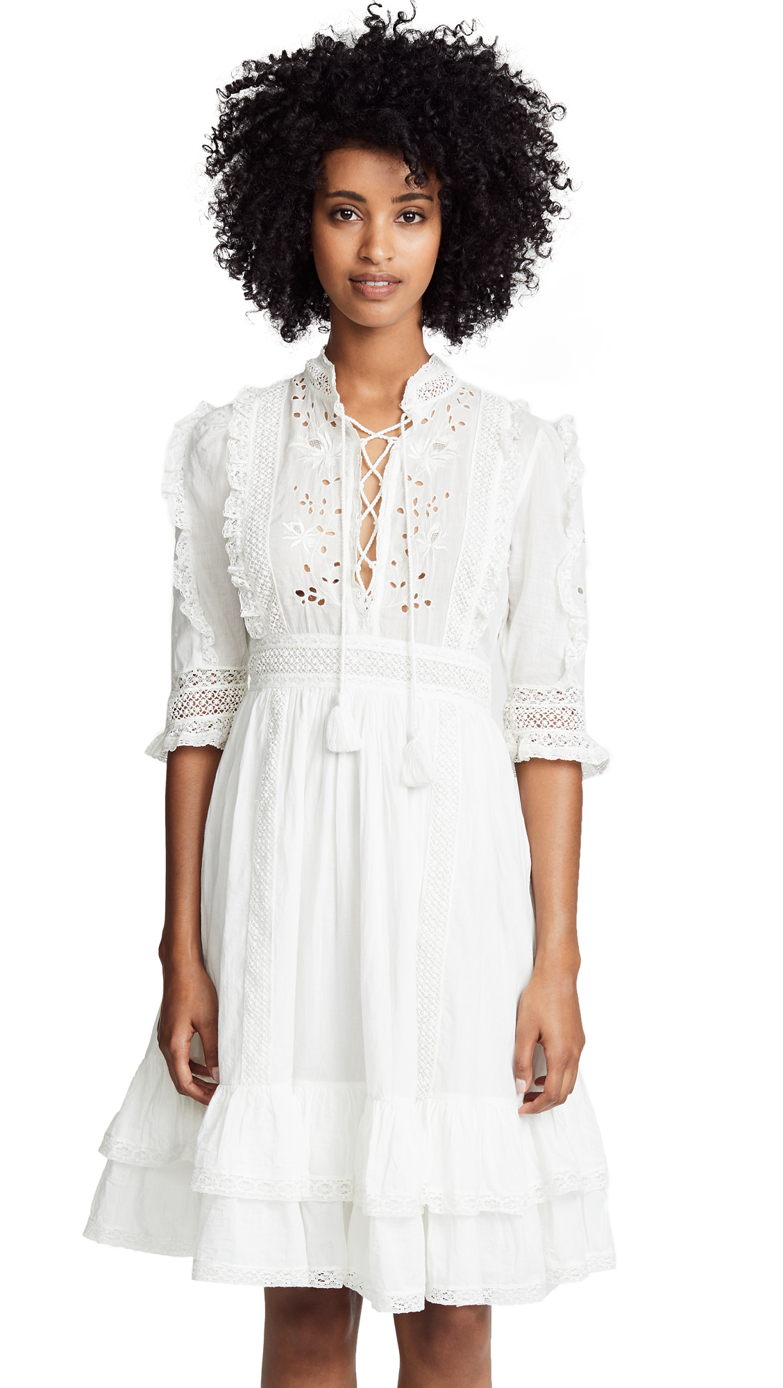 Ulla Johnson Madison Dress - Blanc