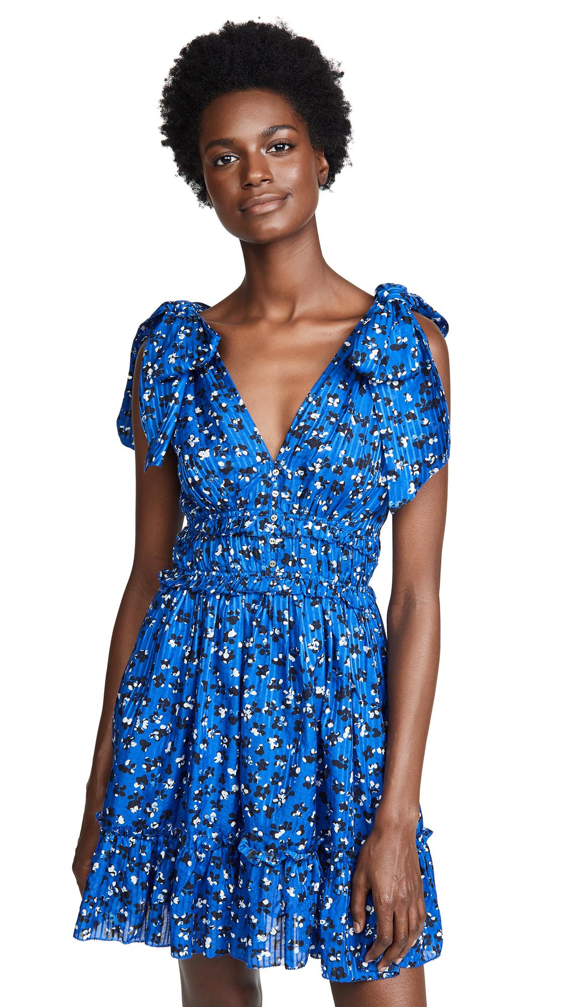 Ulla Johnson Duette Dress - Cobalt
