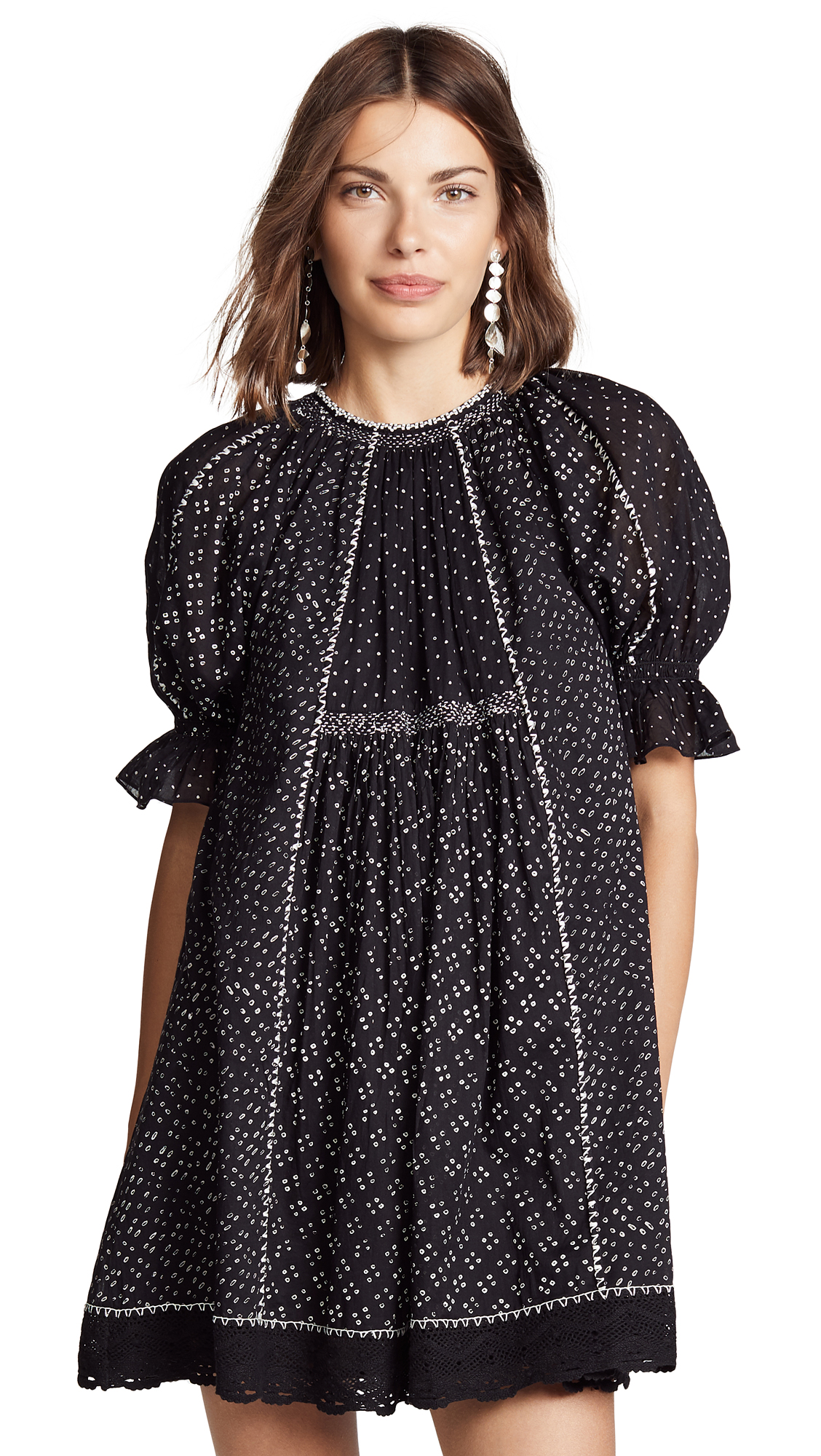 Ulla Johnson Feroz Dress In Noir