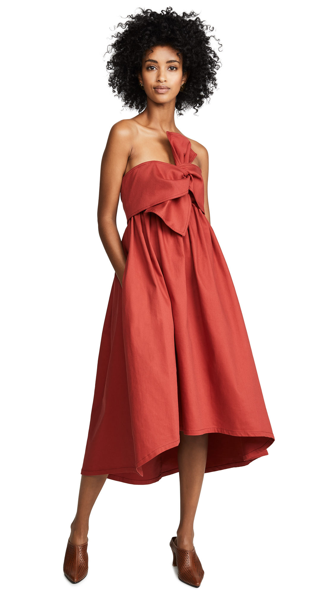 Ulla Johnson Rochelle Dress - Ochre