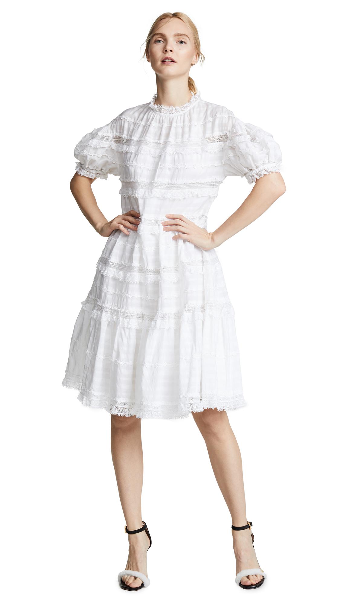 Ulla Johnson Claire Dress - Blanc