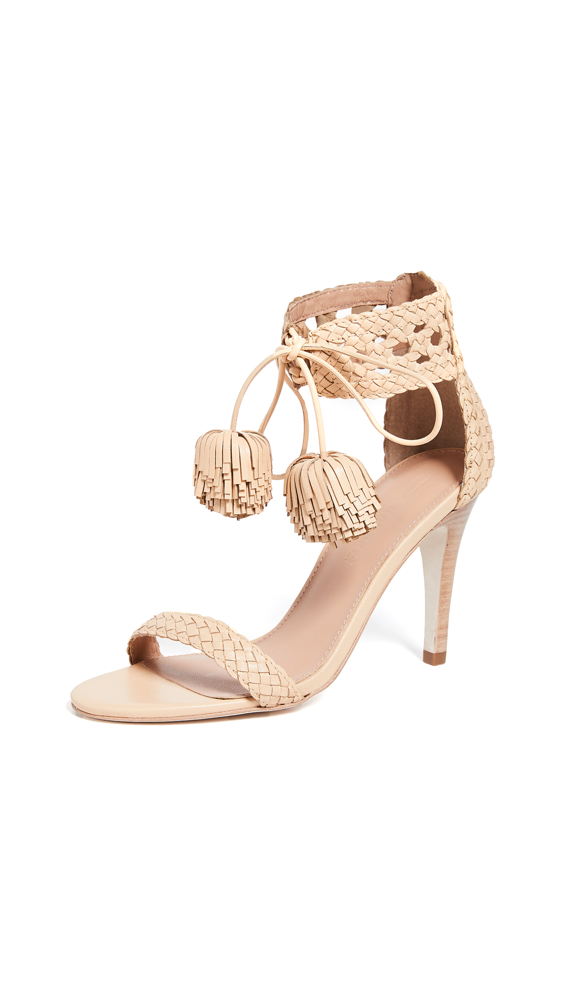 Ulla Johnson Clara Heel Sandals - Natural