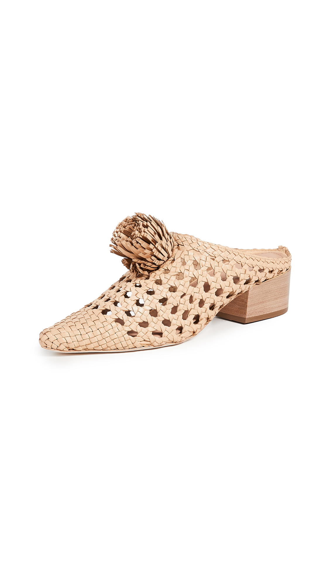 Ulla Johnson Paloma Mules - Natural