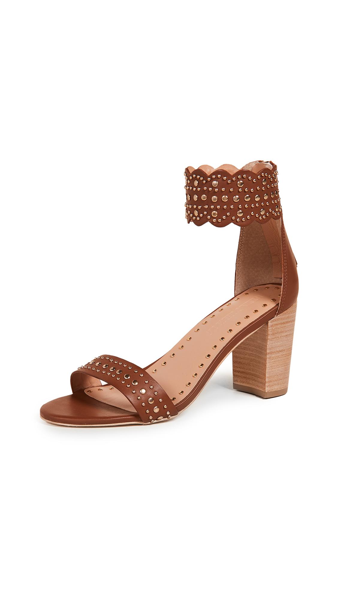 Ulla Johnson Solange Heel Sandals - Saddle