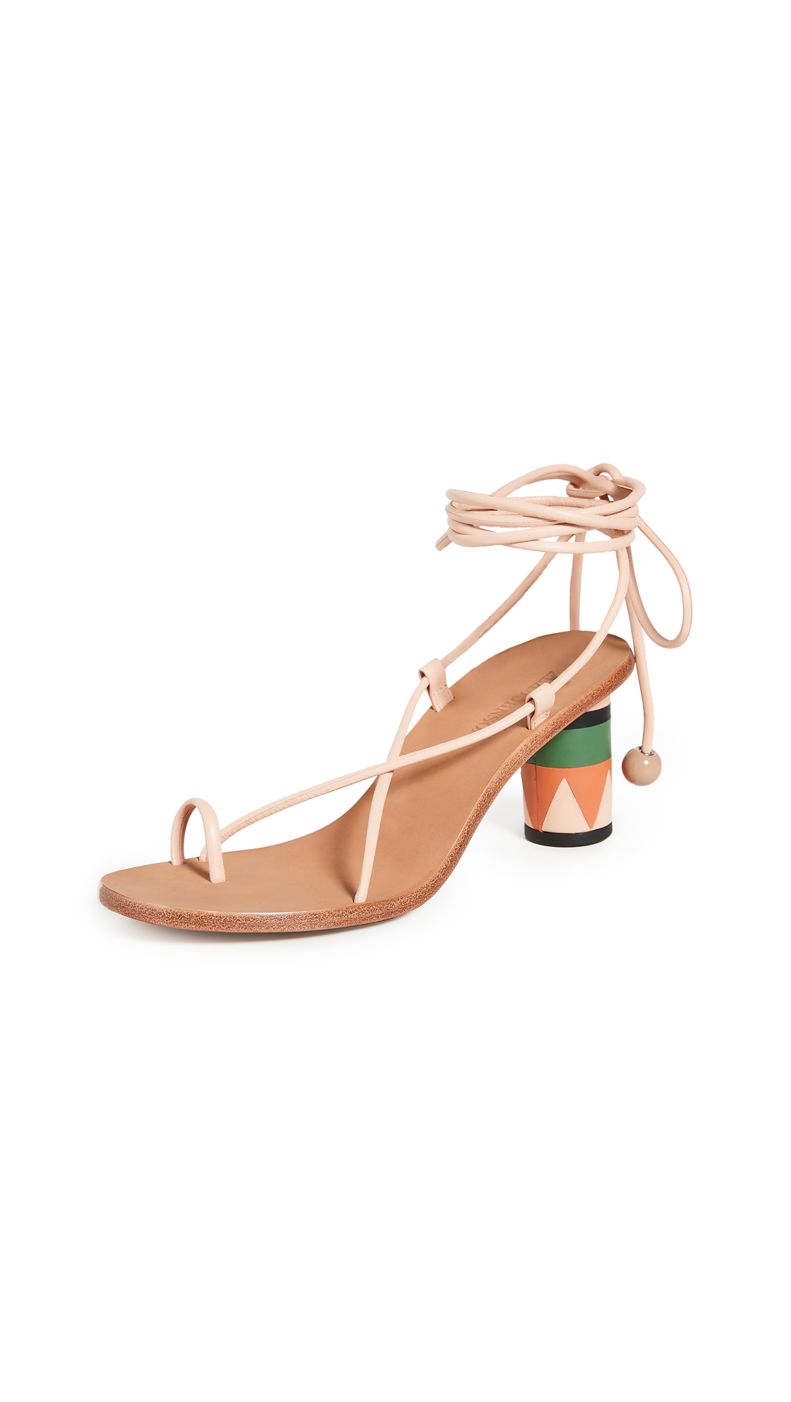 Buy Ulla Johnson Kaya Heel Sandals online, shop Ulla Johnson