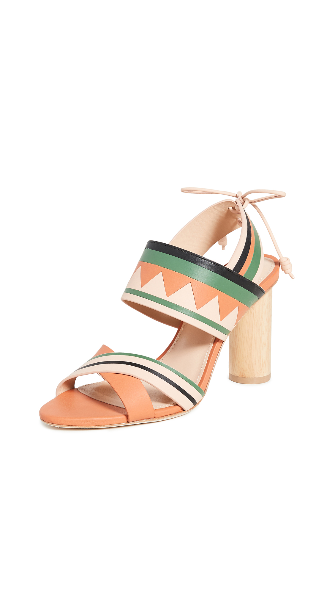 Buy Ulla Johnson Milou Heel Sandals online, shop Ulla Johnson