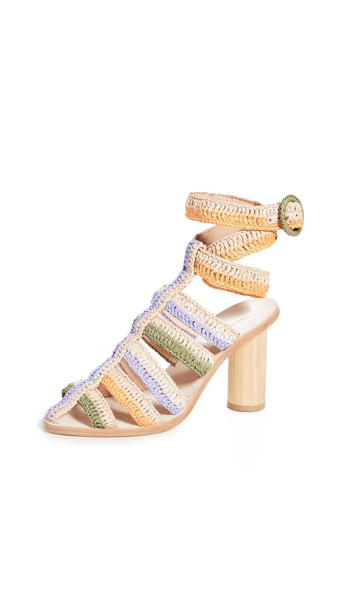 Buy Ulla Johnson Katya Heel Sandals online, shop Ulla Johnson