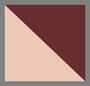 розовая окраска в технике узелкового батика