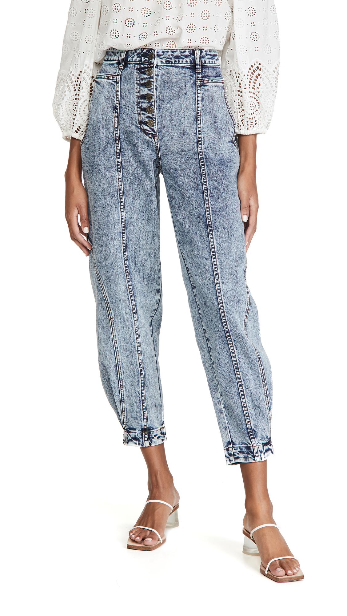 Ulla Johnson Brodie Jeans