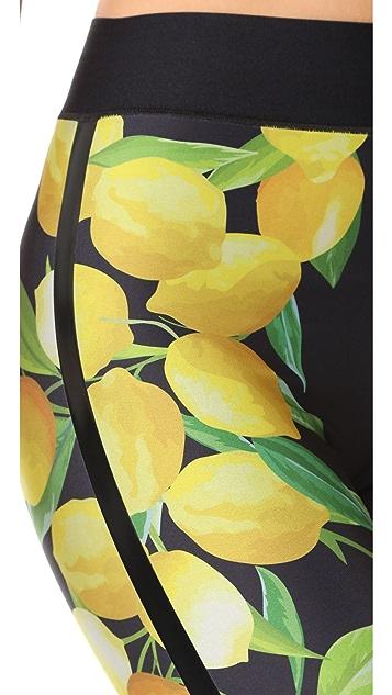 Ultracor Sprinter Lemon Print Leggings