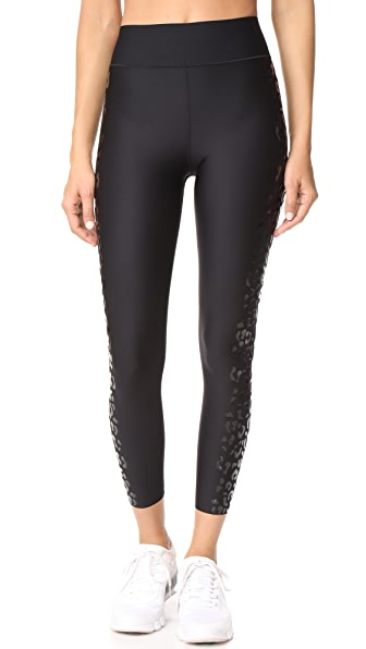 Ultracor Ultra High Lux Feline Leggings In Patent Nero