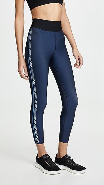 Ultracor Pants SPRINTER HIGH DECO STRIPE LEGGINGS