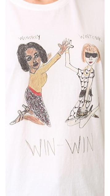 Unfortunate Portrait Win-Win Tee