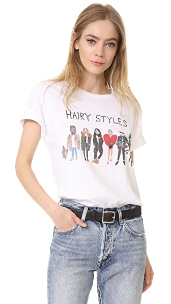 Unfortunate Portrait Hairy Styles Tee